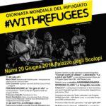 Giornata Mondiale del Rifugiato, #withrefugees