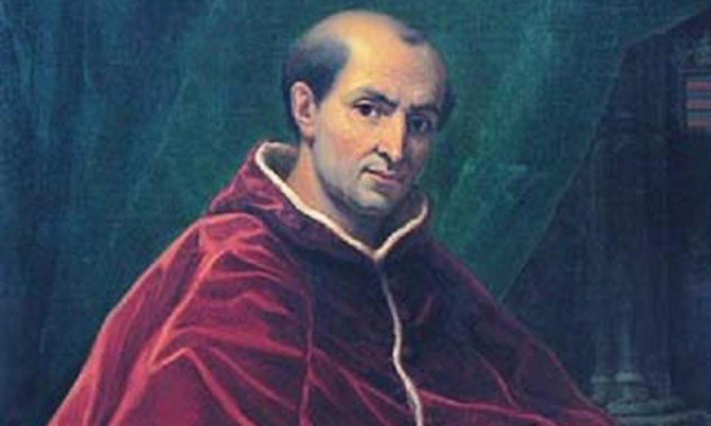 Olio su tela, ritratto di papa Clemente V