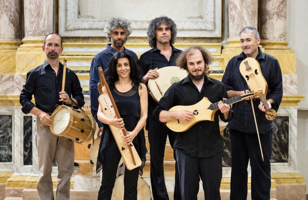 Gruppo di musicisti medievali Micrologus