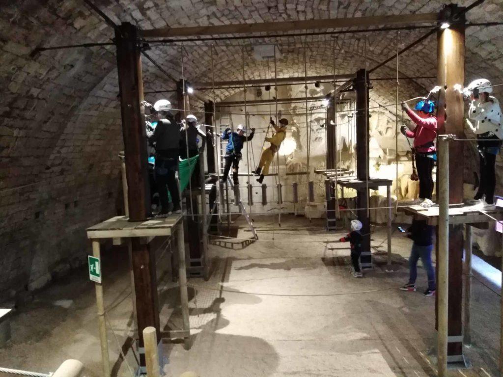 Percorso avventura sotterraneo a Narni