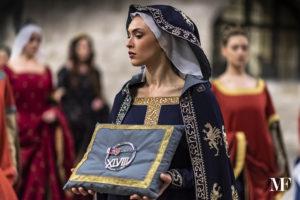 Ester Mascellini costume storico Dama Fraporta