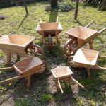 carriole legno