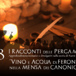 Vino ed acqua di Feronia nella Mensa dei canonici
