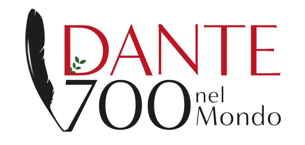Logo - Dante 700 nel mondo