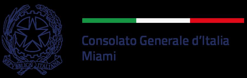 Logo - Consolato Generale d'Italia - Miami USA