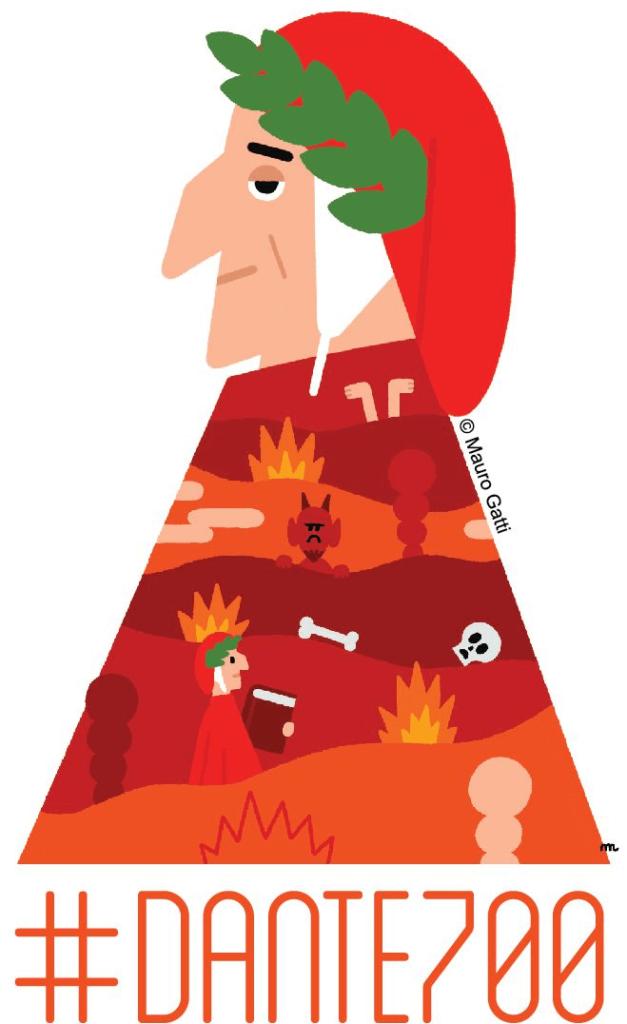 Logo - Dante 700 - Mauro Gatti