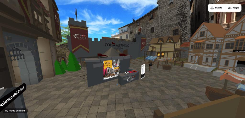 Corsa all'Anello Virtual Village
